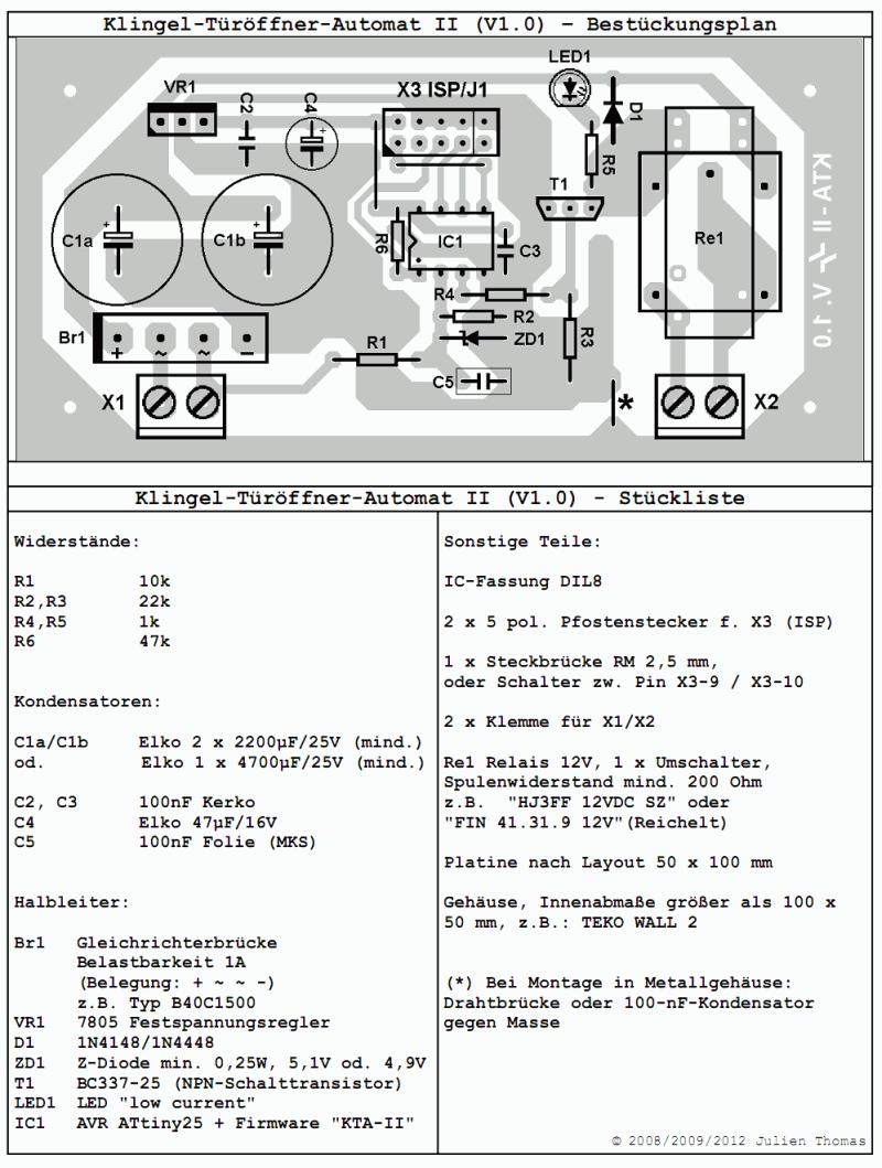 Klingel-Türöffner-Automat reloaded